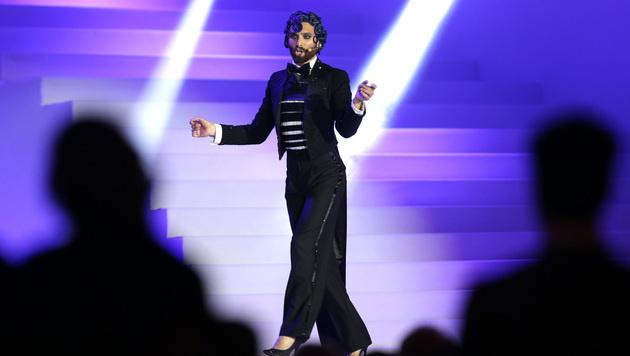 Conchita Wurst bei der Eröffnung des Life Balls 2017 (Bild: APA/GEORG HOCHMUTH)