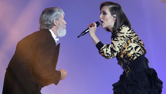"""Alice Merton rockte auf der Bühne mit ihrem Song """"Roots"""". (Bild: APA/GEORG HOCHMUTH)"""