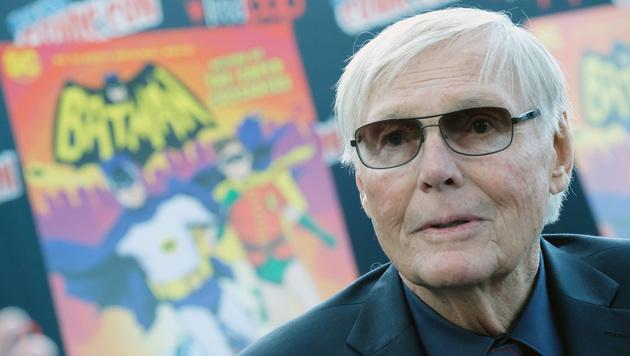 Als Batman wurde Adam West in den 60er-Jahren weltberühmt. (Bild: AFP)