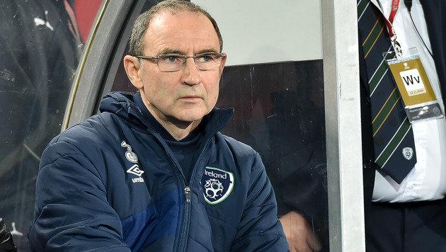 """Irlands Teamchef Martin O""""Neill (Bild: GEPA)"""