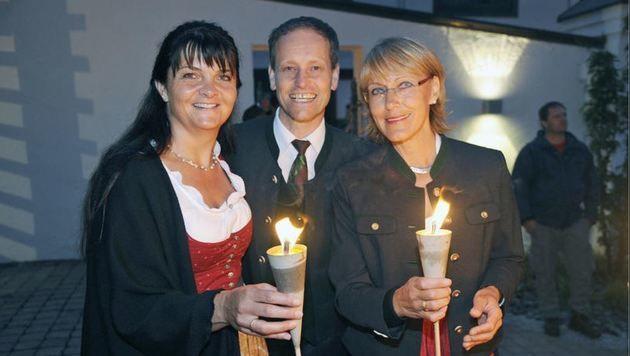 Margit, Christian und Martina (Bild: Roland Holitzky)