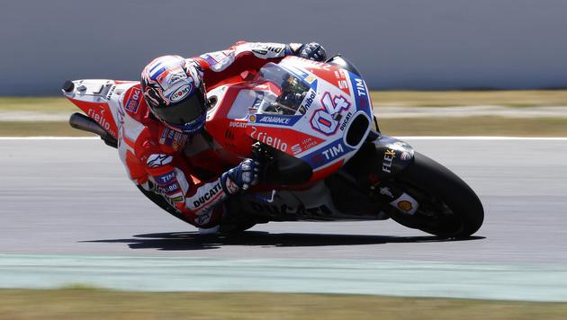 MotoGP: Andrea Dovizioso gewinnt auch in Barcelona (Bild: AP)