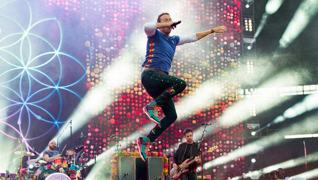Coldplay-Frontman Chris Martin in der Staatsoper (Bild: Andreas Graf)