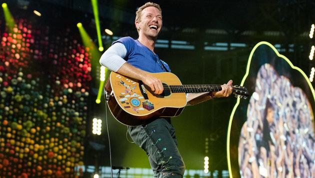 Coldplay: Bahnbrechendes Pop-Entertainment (Bild: Andreas Graf)