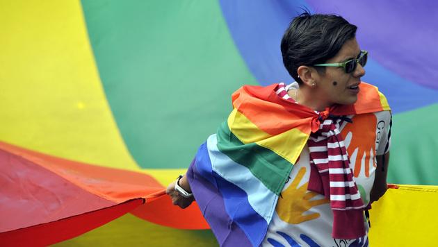 2016 ermöglichten die obersten Richter Kolumbiens die Homoehe. (Bild: AFP)