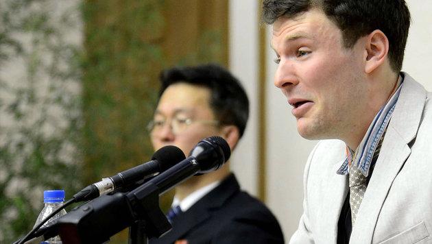 Nach Haft in Nordkorea: US-Student Warmbier tot (Bild: AFP)