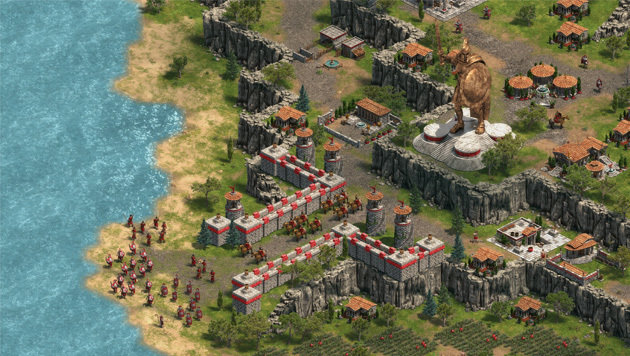 """""""Age of Empires"""" gibt es nur im Windows Store (Bild: Forgotten Empires)"""