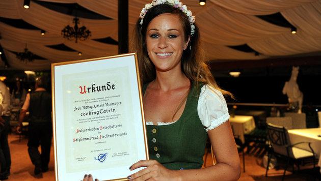 Food Bloggerin Catrin Neumayer alias Cooking Catrin wurde zur Genussbotschafterin gekürt. (Bild: Klemens Fellner)