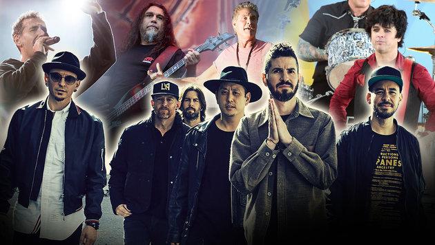 Nova Rock 2017: Startschuss für das Top-Festival (Bild: Warner Music, EPA, AP)