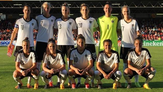 ÖFB-Frauen verlieren EM-Test gegen Niederlande 0:3 (Bild: ÖFB)