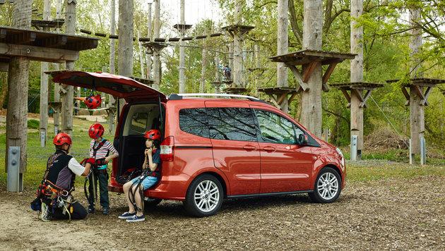 Die Ford Familienausfahrt (Bild: Ford)