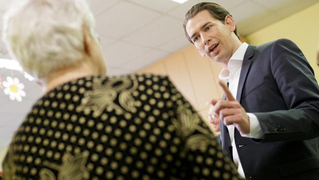 Kurz will Pflegeregress reformieren (Bild: APA/GEORG HOCHMUTH)
