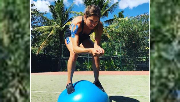 Sportfotos: Hol dir keinen Sonnenbrand, Alana! (Bild: instagram.com)