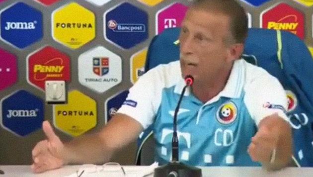 """Wutrede von Daum: """"Bin rumänischer als Sie!"""" (Bild: YouTube.com)"""