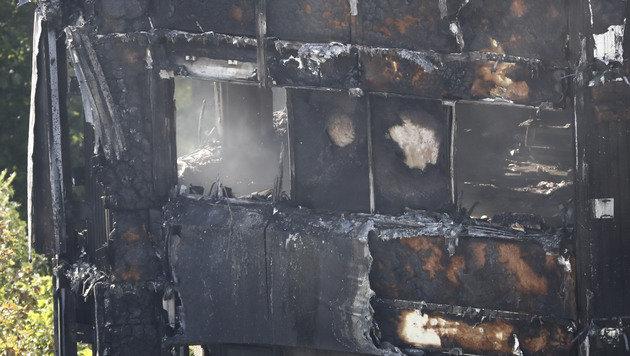 Hochhaus-Inferno: Hunderte Tote befürchtet (Bild: AFP)