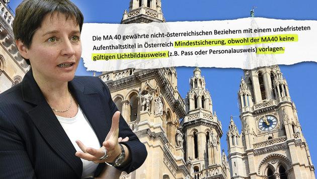 """Justiz ermittelt weiter gegen Ex-Sozialstadträtin (Bild: APA/HELMUT FOHRINGER, """"Krone"""", thinkstockphotos.de)"""