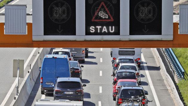 Stauwarnung: Ferienstart in sechs Bundesländern (Bild: Christof Birbaumer/Kronen Zeitung (Archivbild))