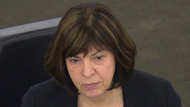 Rebecca Harms sitzt für die deutschen Grünen im EU-Parlament (Bild: AFP)