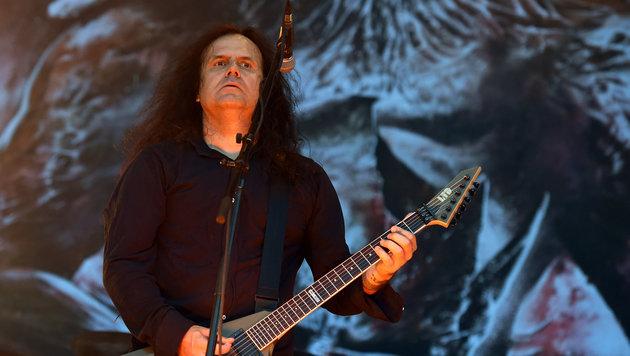 "Kreator: ""Metal ist eine junge Musik"" (Bild: APA/HERBERT P. OCZERET)"