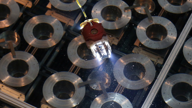 Roboter taucht in Reaktor-Todeszone von Fukushima (Bild: AP)