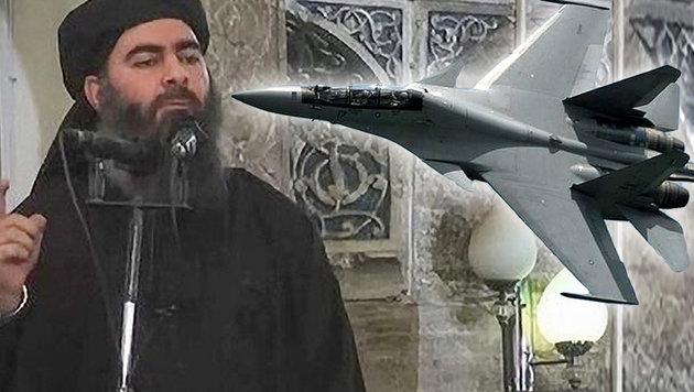 """Russen: """"Haben Nummer eins des IS ausgeschaltet"""" (Bild: Islamic State Video/Handout, AFP)"""