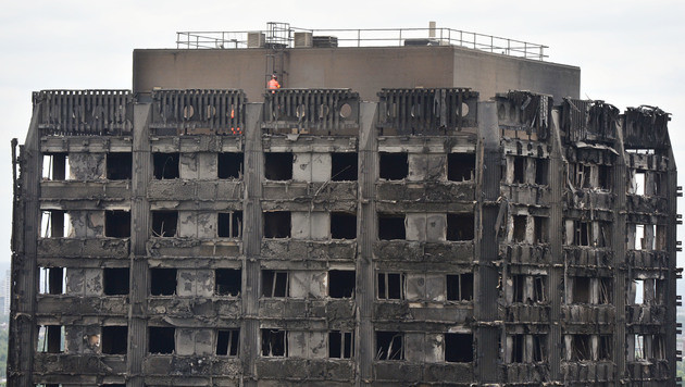So rettete Mutter ihre Familie bei London-Inferno (Bild: AFP)