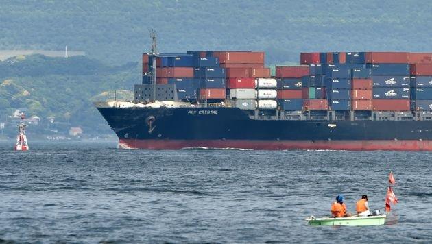 US-Zerstörer kollidiert mit Frachter: 7 Tote (Bild: AFP or licensors)