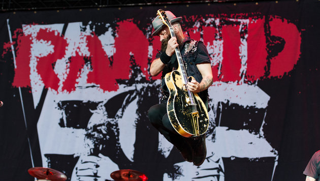 Nova Rock: Punkrock-Chic und Playback-Tricks (Bild: Andreas Graf)