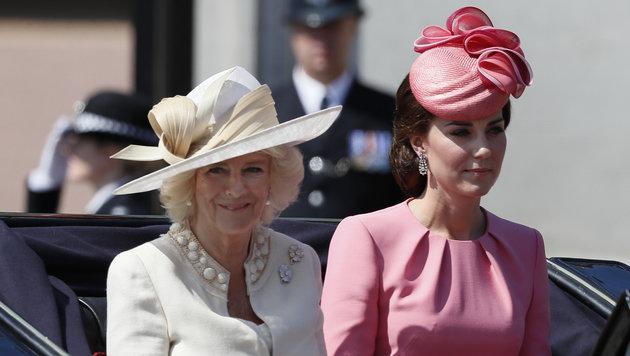 Camilla und Kate (Bild: The Associated Press)