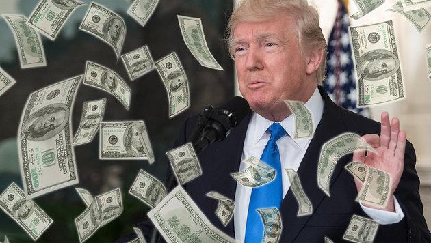 Finanzen offengelegt: Wie viel Trump verdient (Bild: AFP/NICHOLAS KAMM)