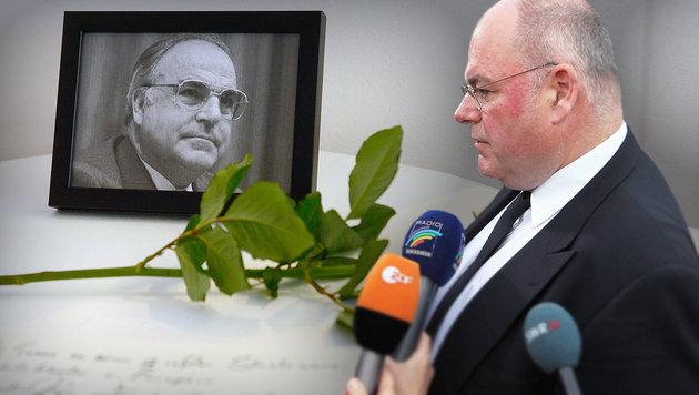 Kohl-Sohn erfuhr im Autoradio vom Tod des Vaters (Bild: AFP, dpa)