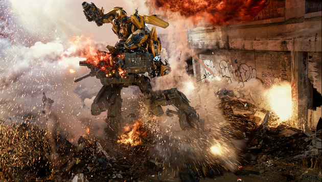 """""""Transformers 5"""" - es wird wieder geschrottet! (Bild: Paramount Pictures)"""