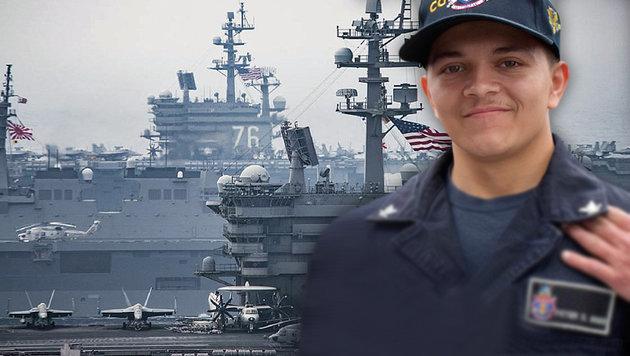 US-Marine findet Matrosen auf eigenem Schiff (Bild: AP, AFP)