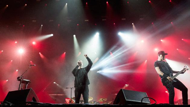 Nova Rock: Politkritik im Rockgewand (Bild: Andreas Graf)