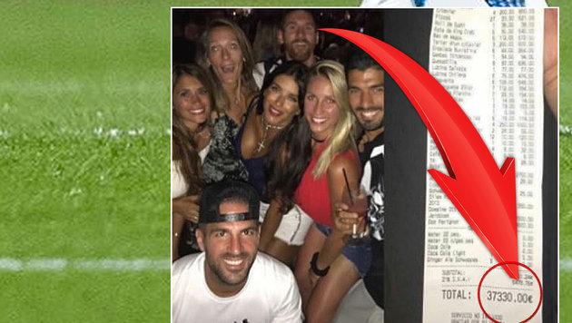 37.000 € in einer Nacht verprasst? Das sagt Messi (Bild: GEPA pictures, Instagram)