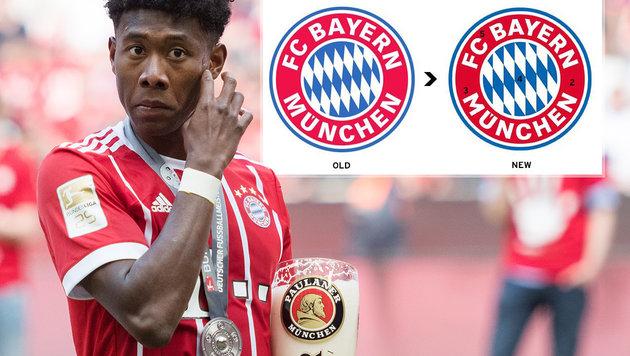 FC Bayern verändert Logo - Traditionsfans sauer! (Bild: GEPA, twitter.com)
