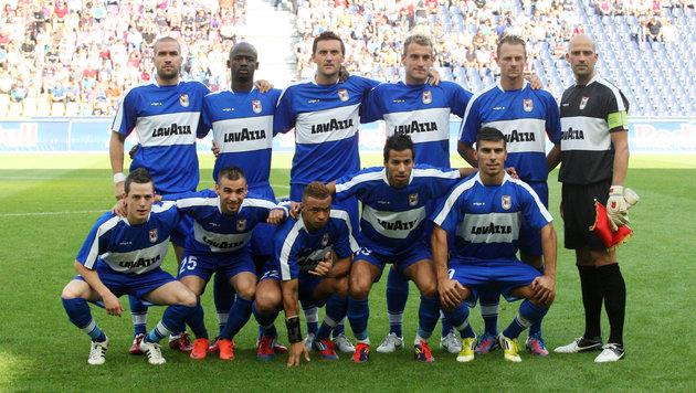 Diese Düdelingen-Mannschaft eliminierte vor fünf Jahren Red Bull Salzburg. (Bild: GEPA)