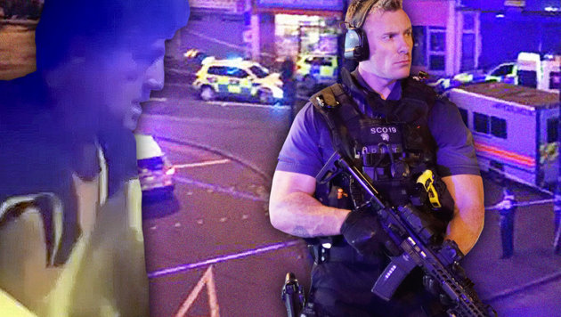 Täter drohte schon am Vortag in Pub mit Bluttat! (Bild: Ruptly.tv, AFP, AP)