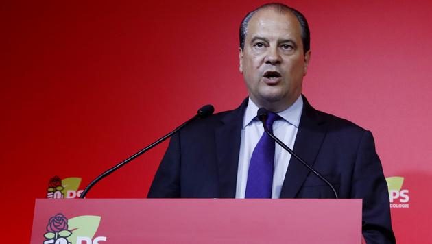 Sozialisten-Chef Jean-Christophe Cambadelis trat nach der Wahl zurück. (Bild: AFP)