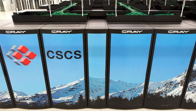 Die Schweiz hat den schnellsten Computer Europas (Bild: CSCS Lugano)