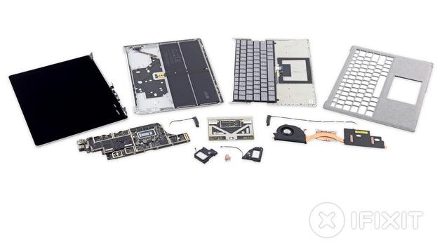 Microsofts Surface Laptop ist unreparierbar (Bild: ifixit.com)