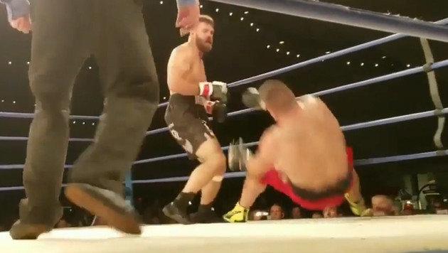 Tragisch! Boxer stirbt einen Tag nach K.o. (Bild: YouTube.com)