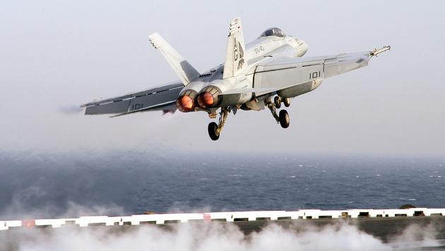US-Luftwaffe schießt syrischen Kampfflieger ab (Bild: AFP)