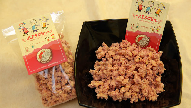 """""""Creschies"""" - ein gesunder Snack und keine Kalorienbombe. (Bild: gewefoto - Gerhard Wenzel)"""