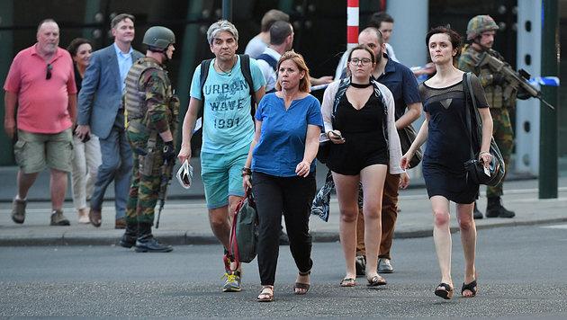 """Täter hatte Bombenkoffer und rief """"Allahu Akbar"""" (Bild: AFP)"""