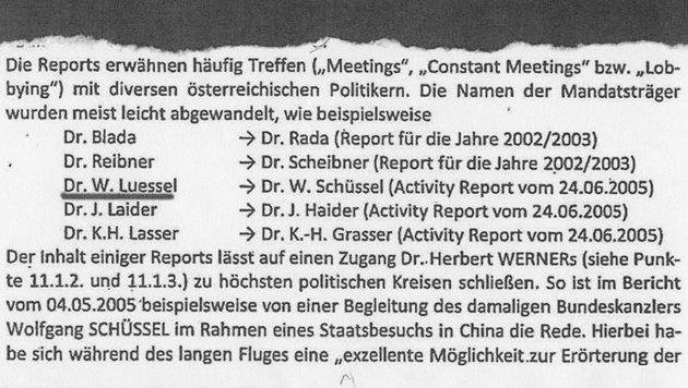 """Streiterei über """"Dr. Lüssel"""" und """"Larifari""""-Akten (Bild: Kronen Zeitung)"""