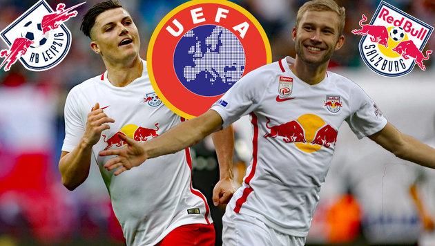 Bericht: Leipzig war kurz vor Champions-League-Aus (Bild: GEPA)