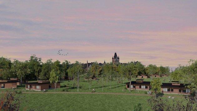 """So sollen die """"Hütten"""" dann aussehen! (Bild: Schloss Grafenegg)"""