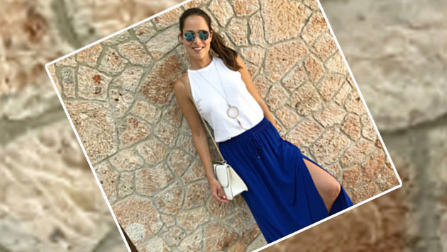 Modisch! Tennis-Star Ana Ivanovic (Bild: instagram.com/Ana Ivanovic)
