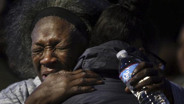 USA: Polizisten erschießen schwangere Frau (Bild: AP)